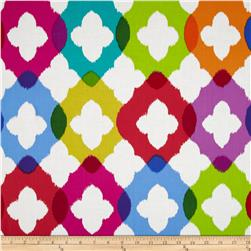 Paintbox Shadows Ogee Multi Fabric