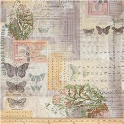 Tim Holtz Eclectic Elements Wall Flower Botanical Multi
