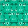 Jungly Flamingos Spearmint