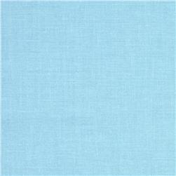Designer Essentials Solid Broadcloth Miracle Blue Fabric