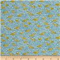 Liberty of London Tana Lawn Gaggle Blue/Yellow
