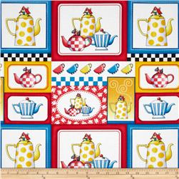 Tea Time Teapot Patch Multi