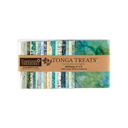 "Timeless Treasures Tonga Batik Surf 5"" Squares"