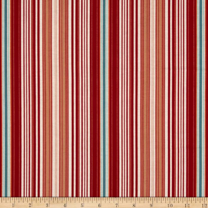 Riley Blake Flutter Stripe Red