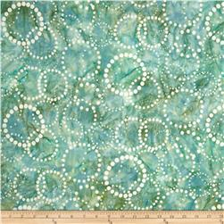 Artisan Batiks Elementals Dotted Circles Sweet Tea Fabric