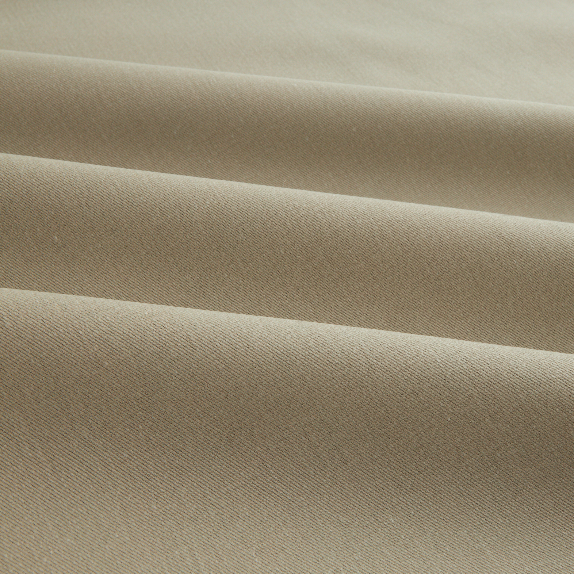 Sanded/Brushed Twill Cream Fabric by Carr in USA
