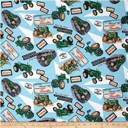 John Deere Model M Tractor Collage Multi