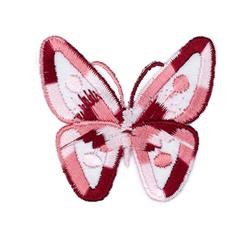 Boutique Applique Butterfly Pink/Multi