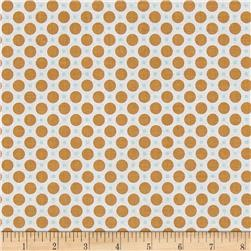 Riley Blake Sew Cherry 2 Circle Nutmeg