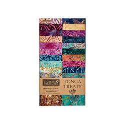 "Timeless Treasures Tonga Batik Zanzibar 2.5"" Strip Packs"