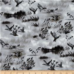 North By Northwest Flannel Duck Hunt Silver