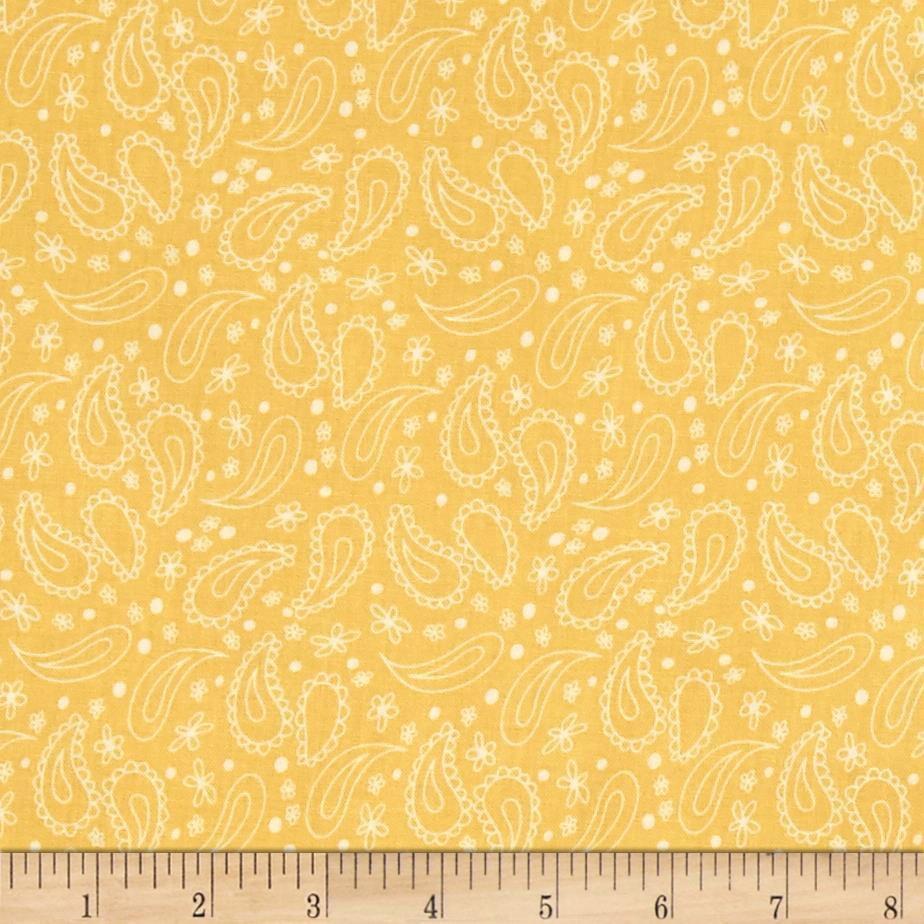 On The Road Again Paisley Yellow