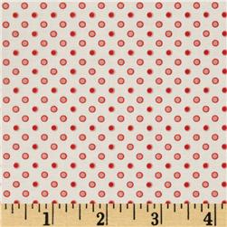 Riley Blake Avignon Dots Red
