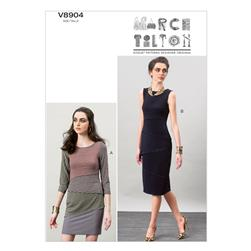Vogue Misses' Dress Pattern V8904 Size A50