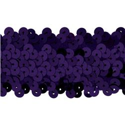 Team Spirit #68 Sequin Trim Plum