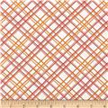 Gramercy Hudson Plaid White/Pink