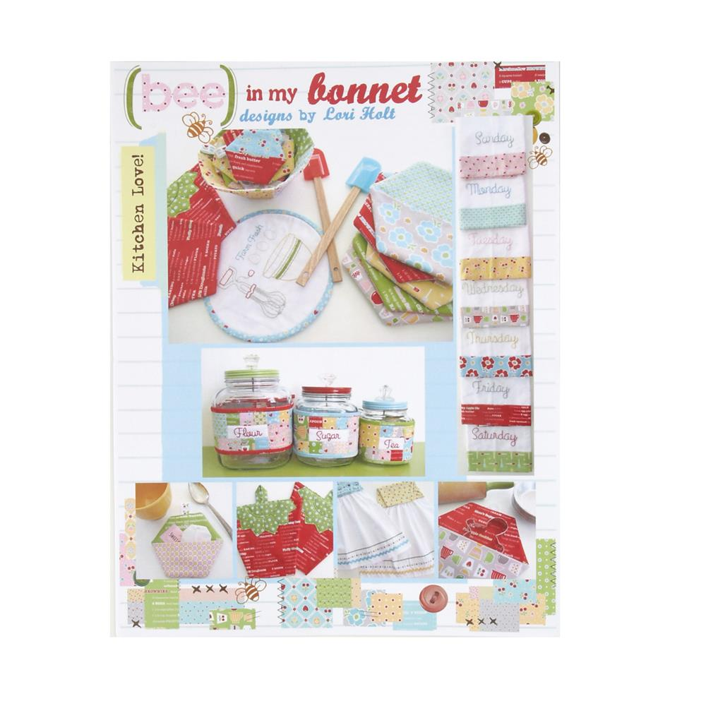 Kitchen Quilting Ideas : Bee In My Bonnet Kitchen Love Quilt Pattern - Discount Designer Fabric - Fabric.com