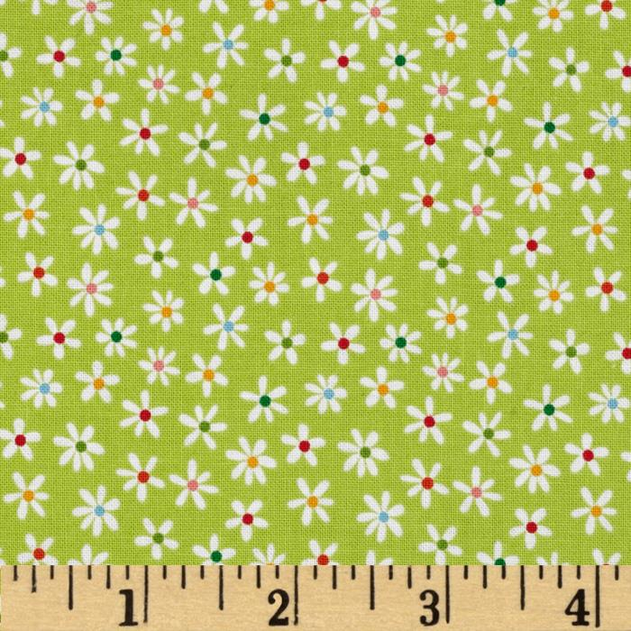 Riley Blake My Sunshine Floral Green
