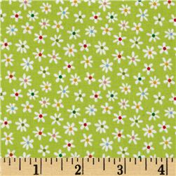 Riley Blake My Sunshine Floral Green Fabric