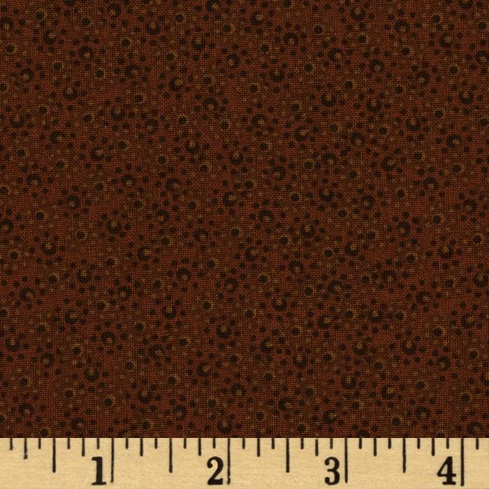 "108"" Wide Ashley Quilt Back Brown"