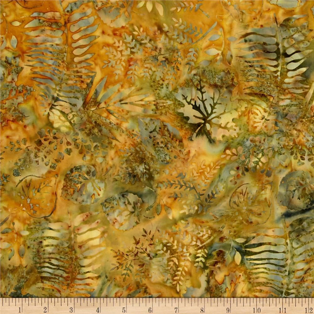 Island Batik Hollywood Hills Fern Green/Gold