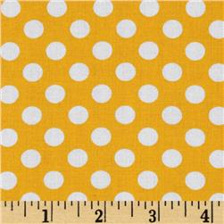 Kaufman Spot On Medium Dot Yellow