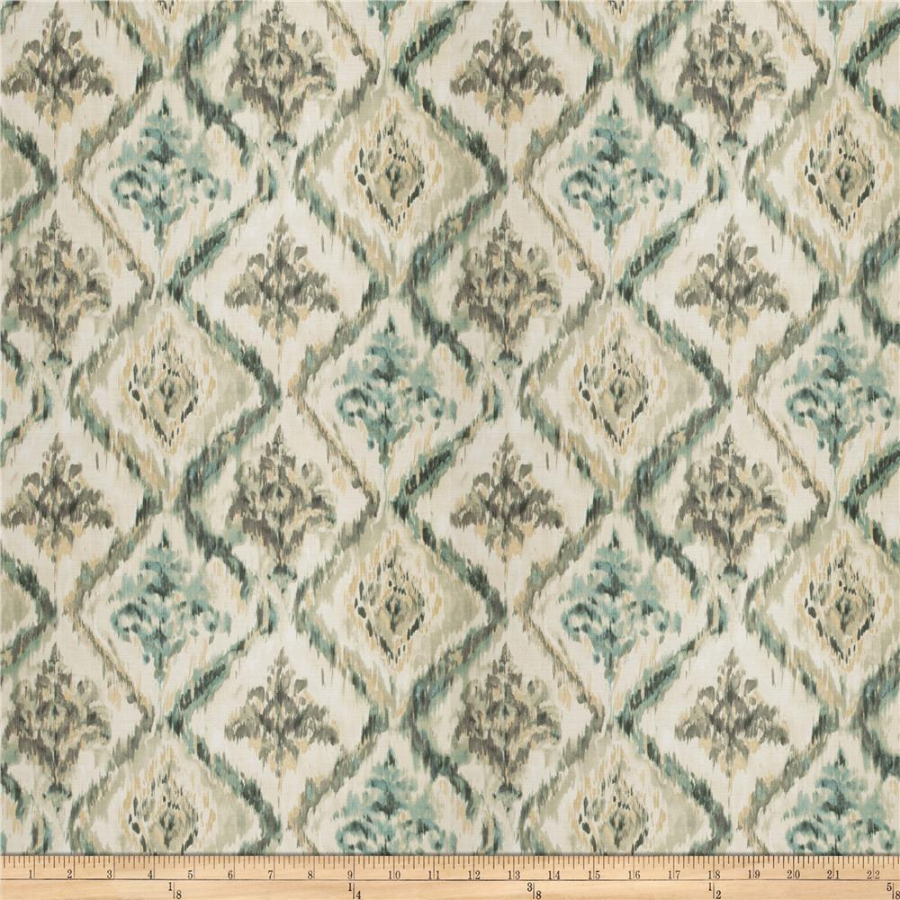Fabricut Major Piece Barkcloth Teal