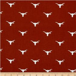 Collegiate Cotton Broadcloth Texas