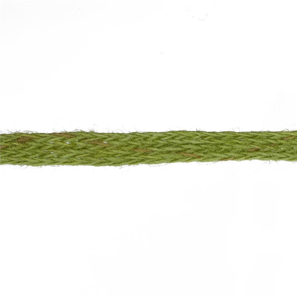 "May Arts 1/2"" Burlap Ribbon Spool Olive"