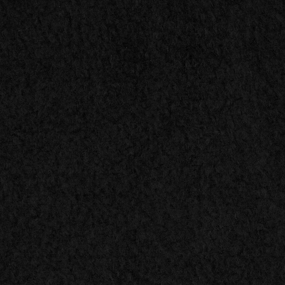 Yukon Fleece Black Fabric By The Yard