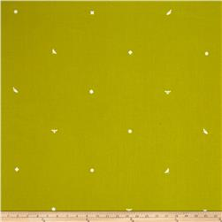Alison Glass Insignia Flourescent Green