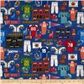 Whole 9 Yards Football Gear Blue