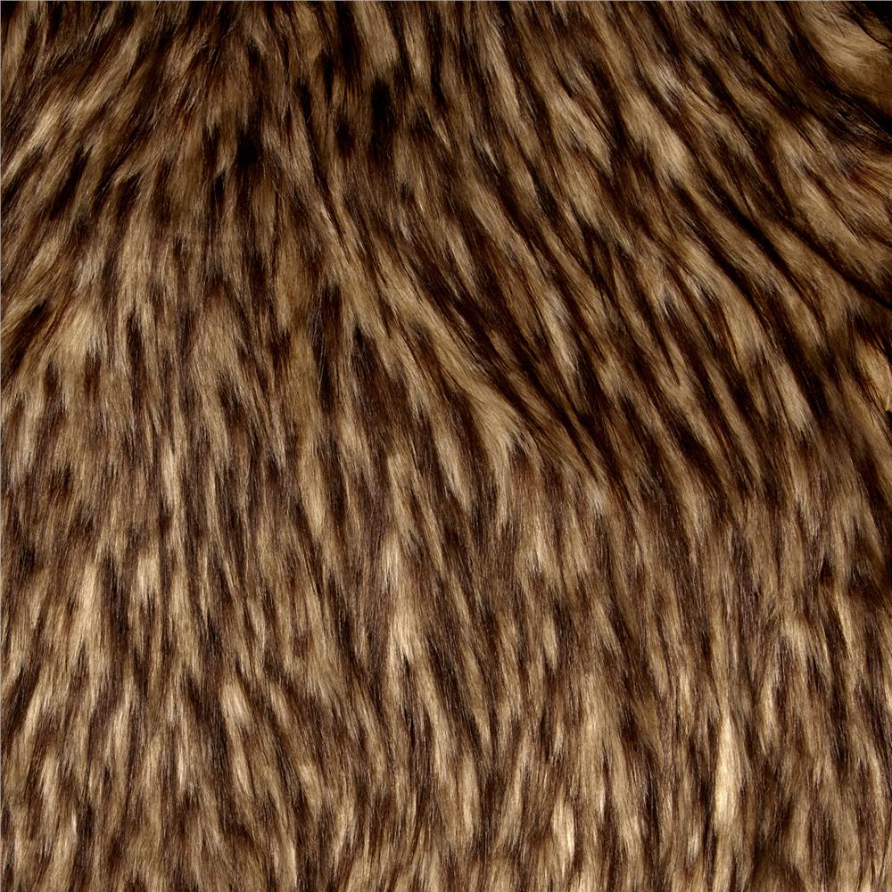 Luxury Faux Fur Falcon Beige/Brown