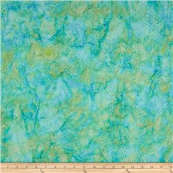 Island Batik Running Water Splash Light Turquoise