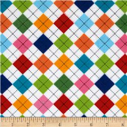 Remix Flannel Argyle Park Fabric