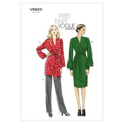 Vogue Misses' Tunic, Dress And Pants Pattern V8825 Size B50