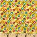 Riley Blake Unforgettable Floral Yellow