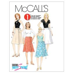 McCall's Misses' Wrap Skirts Pattern M5430 Size AA0