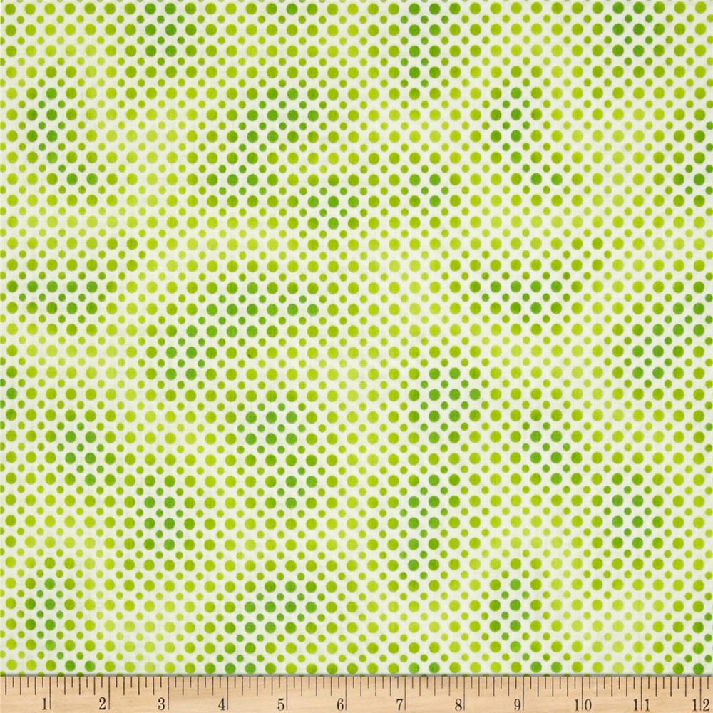 Ombre Dot Lime
