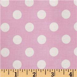 Brights & Pastels Basics Polka Dot Light Pink