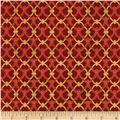 Alchemy Metallic Ironwork Red/Gold