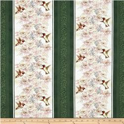 Garden Melodies Songbird Stripe Green
