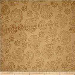 Minky Cuddle Majestic Embossed Mirage Honey Fabric