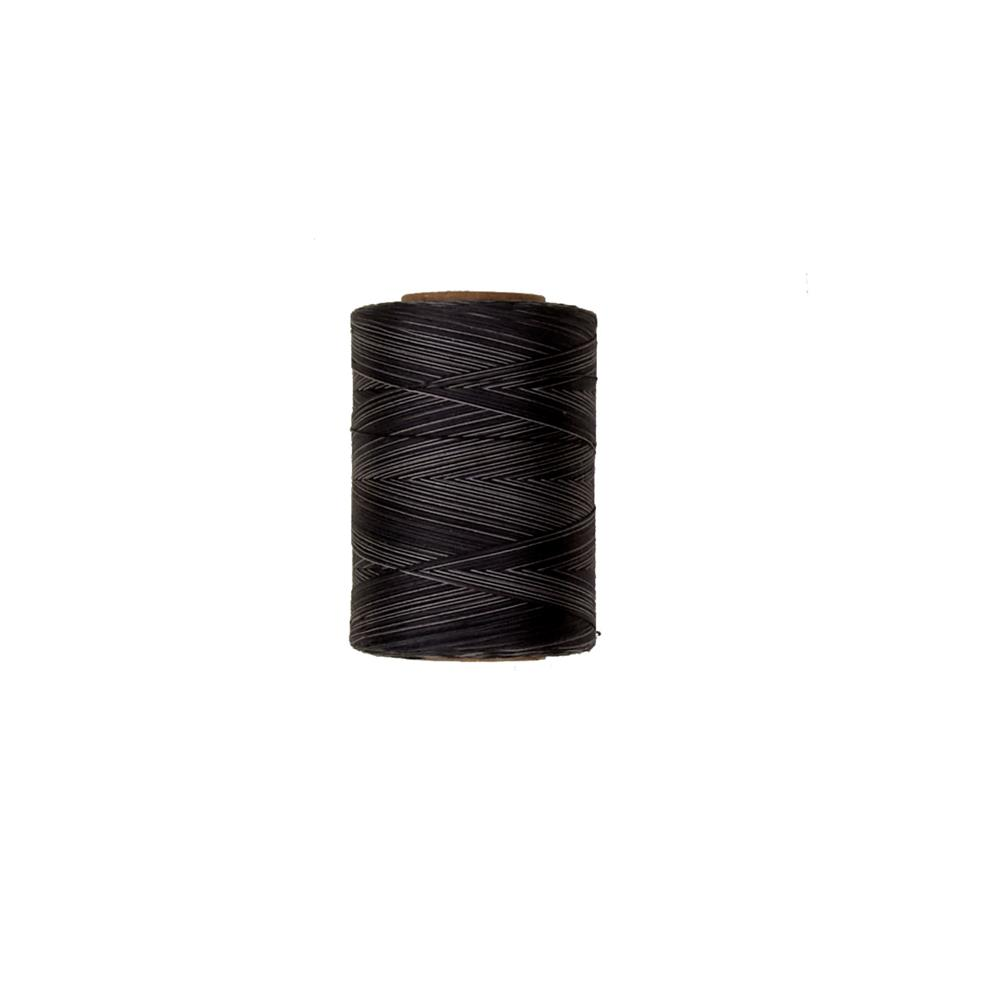 Cotton Machine Quilting Multicolor Thread 1200 YD Black Pinstripes