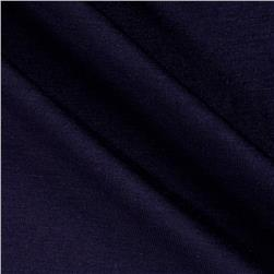 Designer Stretch Rayon Jersey Knit Navy