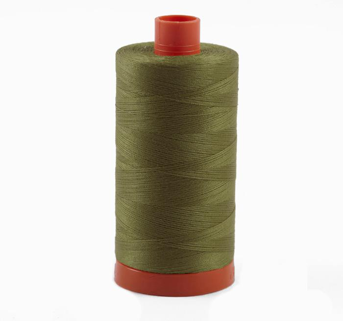 Aurifil Quilting Thread 50wt Light Khaki Green