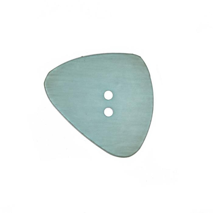 Fashion Button 1 3/8'' River Stone Seafoam
