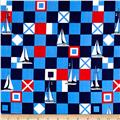 Michael Miller Yacht Club Mariner Flags Sailor