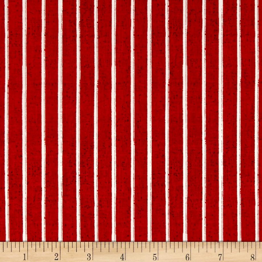 Windham Hidden Cove Stripe  Red