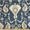 Magnolia Home Fashions Java Ikat Yacht Blue